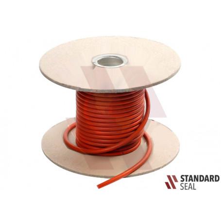 """Cordon Extruido Redondo Silicon 70 (VMQ) 10.00 mm (0.393"""")"""